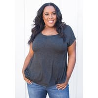 Sealed with a Kiss Women's Plus Size Agnes Top