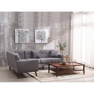 US Pride Furniture Barnet Sectional sofa - Gray