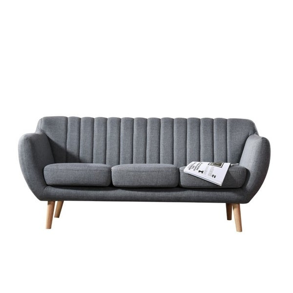 Exceptionnel US Pride Furniture Giselle Upholstered Modern Sofa
