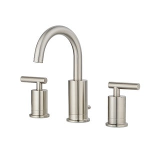 Pfister Contempra Two Handle Widespread Lavatory Faucet LG49-NC1K Brushed Nickel