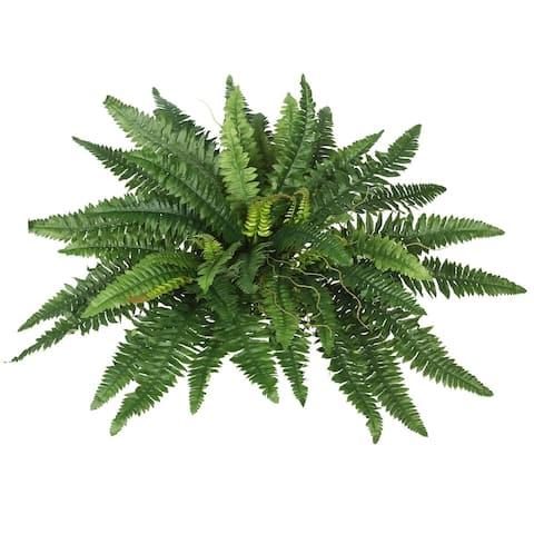 "Vickerman 21"" Green Fern Bush"