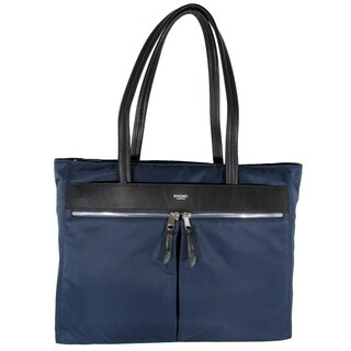 "Knomo London Mayfair Collection Grosvenor Square 15"" Tote Bag, Navy"