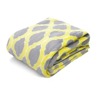 Trellis Royal Plush Blanket