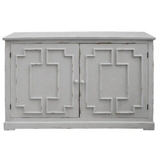 Lydia Pale Grey 2-door Cabinet