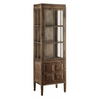 Grand Junction Brown Mango Wood Tall Cabinet