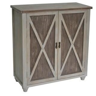 Richland Grey Two Tone 2-door Cabinet