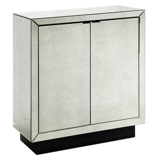 Kacey Antique Mirror 2-door Cabinet