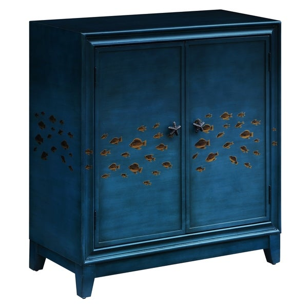 Gulf Breeze Ocean Sea 2-door Goldfish Cabinet