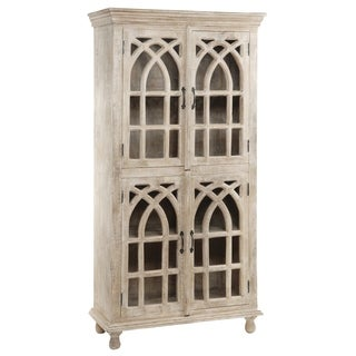 Bengal Manor Light Mango Wood 4-door Cabinet