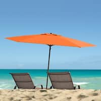 CorLiving UV and Wind Resistant Beach/Patio Umbrella
