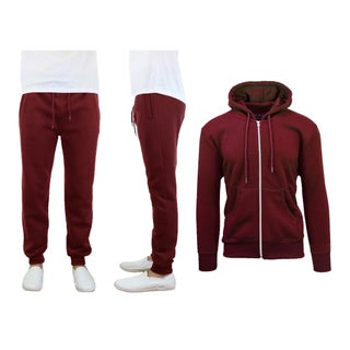 Galaxy By Harvic Men's Fleece Hoodie & Jogger Set (More options available)