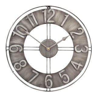 Link to Studio Designs Home 15-Inch Industrial Loft Metal Wall Clock Similar Items in Decorative Accessories