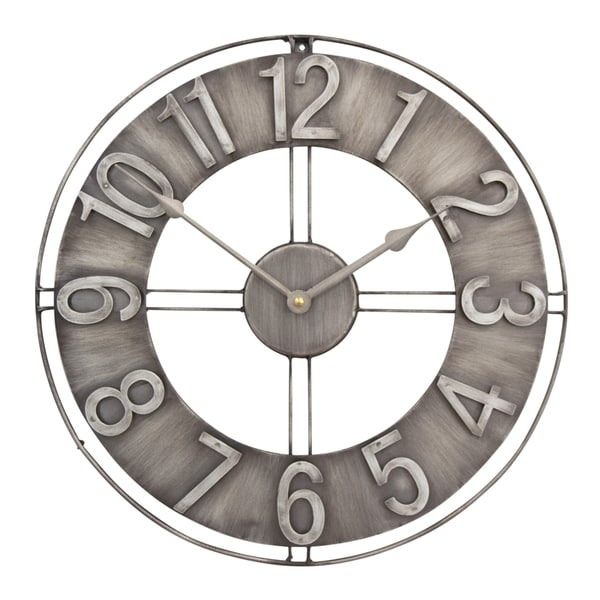 c97a4ef0315 Shop Studio Designs Home 15-Inch Industrial Loft Metal Wall Clock ...