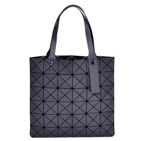 ba1cdf087f6 Buy Silver Tote Bags Online at Overstock   Our Best Shop By Style Deals