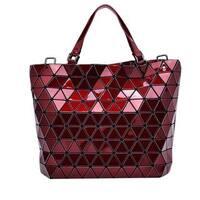 Draizee Diamond Lattice Tote Bag