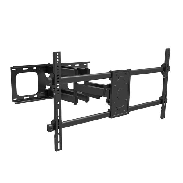 """CorLiving Full Motion Flat Panel Wall Mount for TVs up to 90"""""""