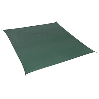 California Sun Shade 12' Square Heritage Green with Hardware