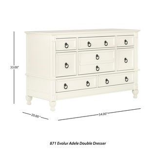 Evolur Adele Double Dresser