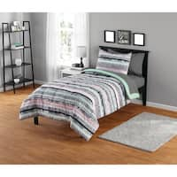 Mida Stripe Comforter Set