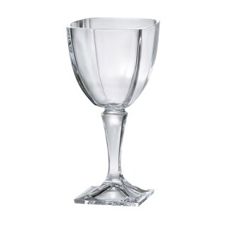 Majestic Gifts European Square Footed Wine Goblet-9oz.-S/6