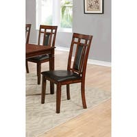Best Master Furniture Cherry Side Chairs (Set of 2)
