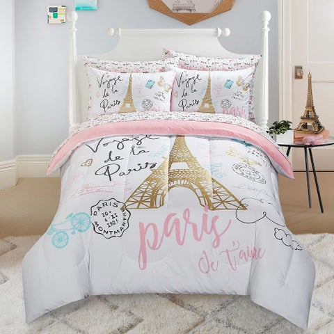 Paris Love Kids Bed in a Bag