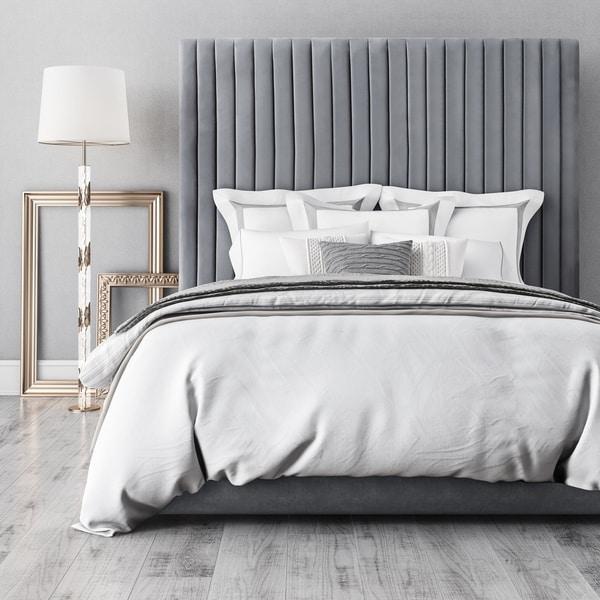 Arabelle Grey Bed in King