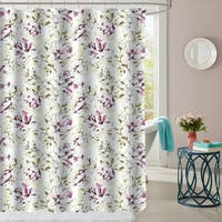 "Dolce Patterned Fabric Shower Curtain (70""x72"")"