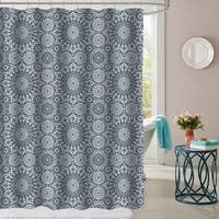 """Oasis Patterned Fabric Shower Curtain (70""""x72"""")"""
