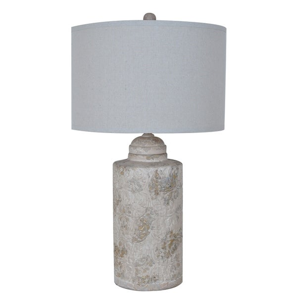 Camden Canister Sand 31.5-inch Table Lamp