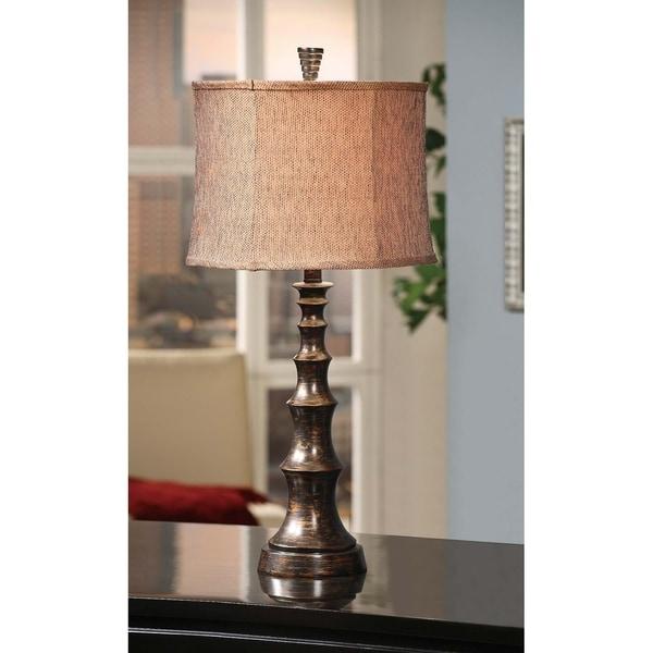 Orlo Bronze 30-inch Table Lamp