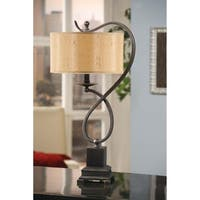 Echo Bronze 27-inch Metal Table Lamp