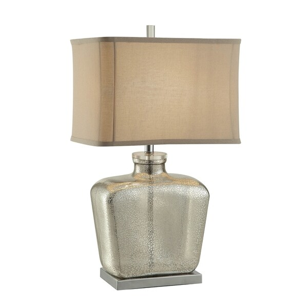 Celine Mercury and Nickel 27.5-inch Table Lamp
