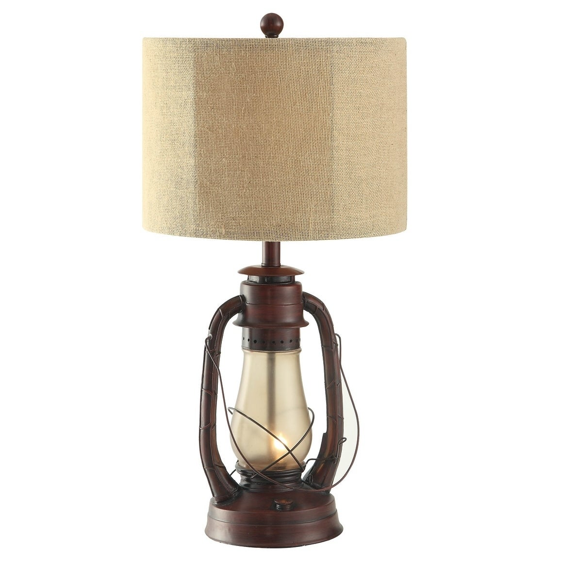 Lauren Rustic Red 28 Inch Table Lamp N A