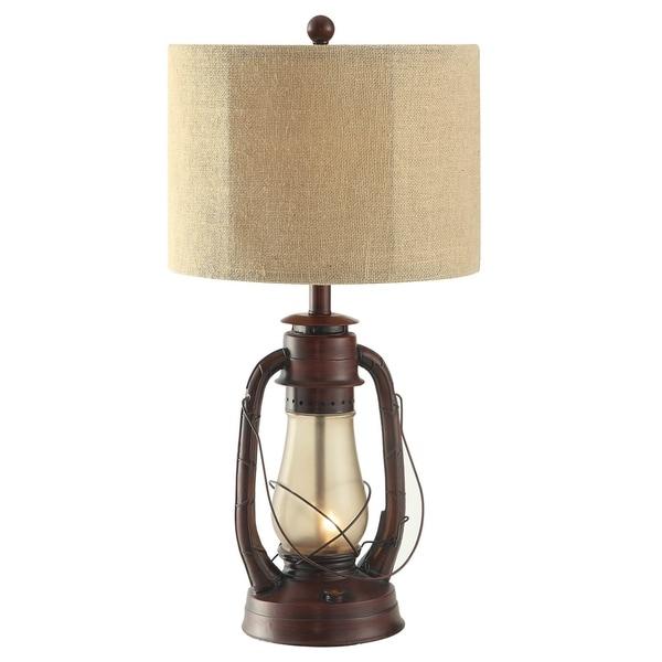 Lauren Rustic Red 28-inch Table Lamp
