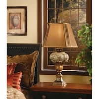 Wingate Brushed Umber 32-inch Table Lamp