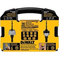 DeWalt  Bi-Metal  Hole Saw Kit