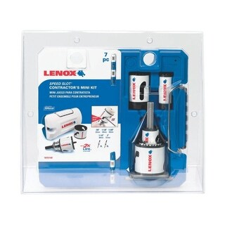 Lenox Speed Slot Bi-Metal Mini Hole Saw Kit