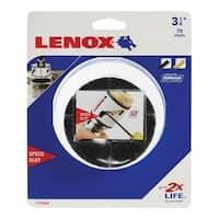 Lenox  Speed Slot  3-1/8 in. Dia. Bi-Metal  Hole Saw
