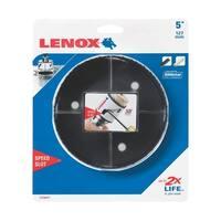 Lenox  Speed Slot  5 in. Dia. Bi-Metal  Hole Saw