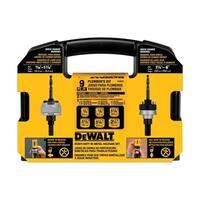 DeWalt  Bi-Metal  Plumber's Hole Saw Kit