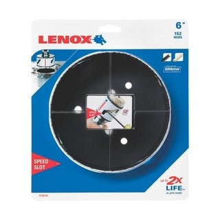Lenox Speed Slot 6 in. Dia. Bi-Metal Hole Saw