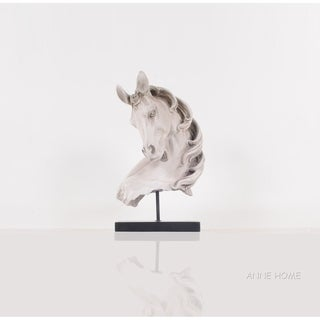 Anne Home - Horse Head Statue