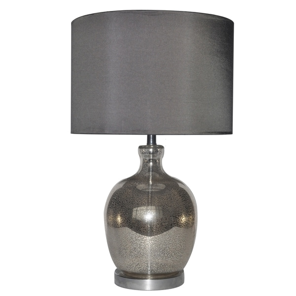 Lala Antique Mercury 24-inch Table Lamp