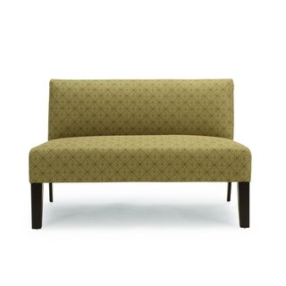 Porch & Den Corktown Wabash Diamond Pattern Loveseat