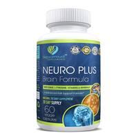 Bio Paramount Neuro Plus Brain Formua for Improved Focus & Energy (60 Vegetarian Capsules)