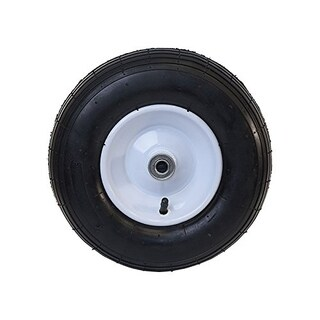 ALEKO Ribbed Pneumatic Air Filled Replacement Wheel 13 Inch