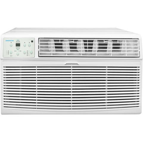 Emerson Quiet Kool 10,000 BTU 230V Through the Wall Air Conditioner with Electronic Control - White