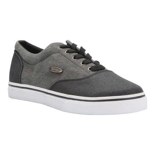 Men's Lugz Vet MM Sneaker Black/White Canvas