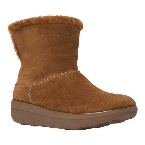 0e1d2e663c236b Women  x27 s FitFlop Mukluk Shorty II Water-Resistant Boot Chestnut Suede